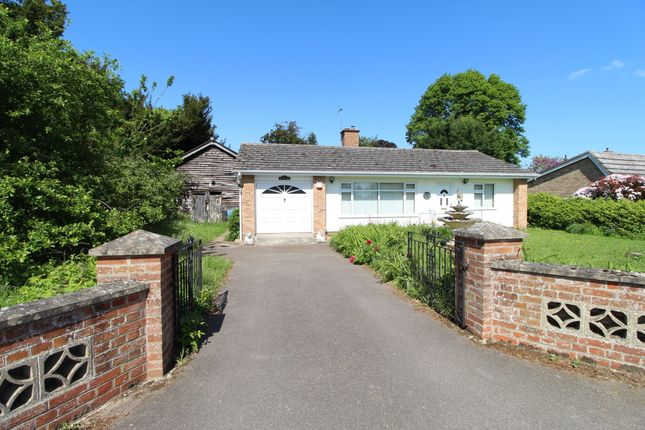 Thumbnail Detached bungalow for sale in Thelnetham Road, Hopton, Diss
