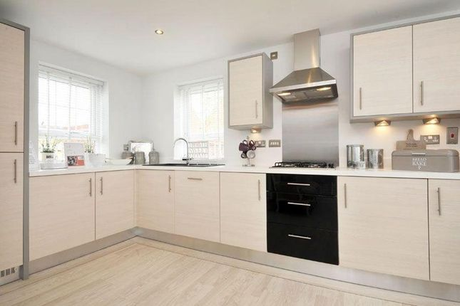 "Thumbnail Detached house for sale in ""Alnwick"" at Squinter Pip Way, Bowbrook, Shrewsbury"