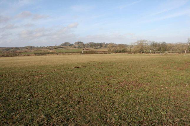 Thumbnail Land for sale in Upper Nash, Lamphey, Pembroke