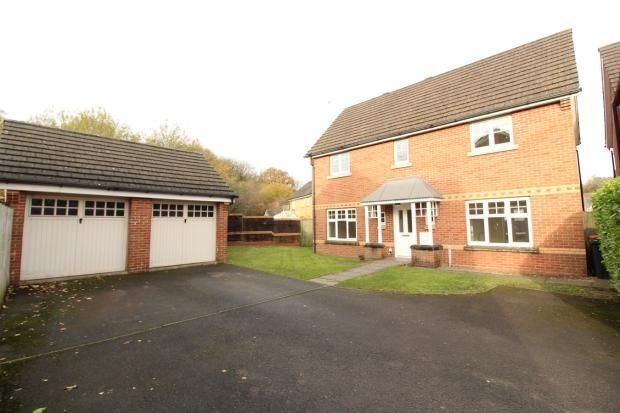 Thumbnail Detached house to rent in Daffodil Lane, Rogerstone, Newport