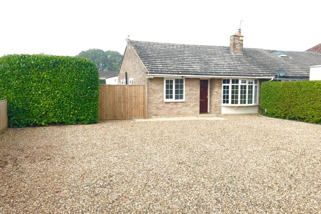 Thumbnail Bungalow to rent in Longworth, Oxfordshire