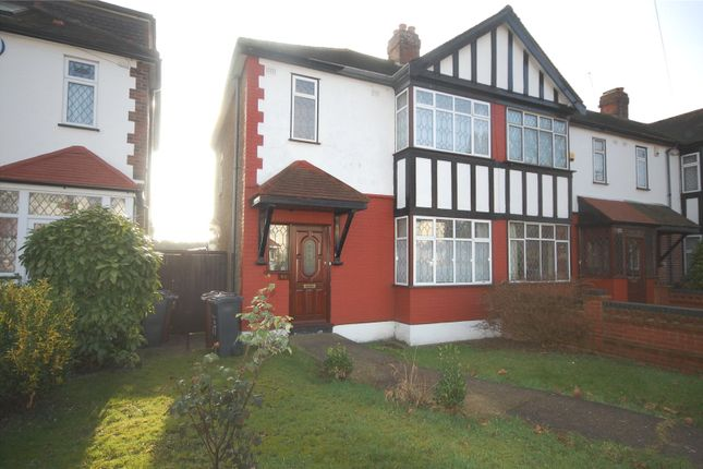 Thumbnail End terrace house for sale in Salcombe Drive, Chadwell Heath, Essex
