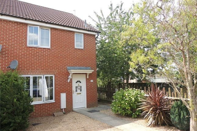 Thumbnail End terrace house for sale in Milton Way, Downham Market