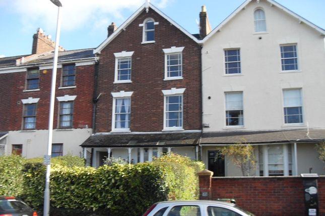 Thumbnail Flat to rent in Polsloe Road, Exeter