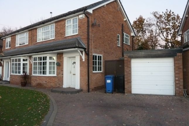 Thumbnail Semi-detached house to rent in Severn Drive, Bramhall, Cheshire
