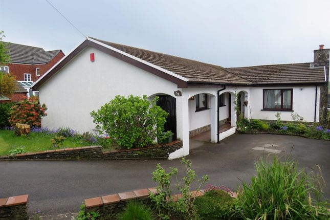 Thumbnail Detached bungalow for sale in The Heathlands, Gilfach Goch, Porth