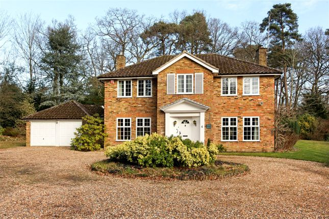 Thumbnail Detached house for sale in Hamilton Drive, Sunningdale, Berkshire