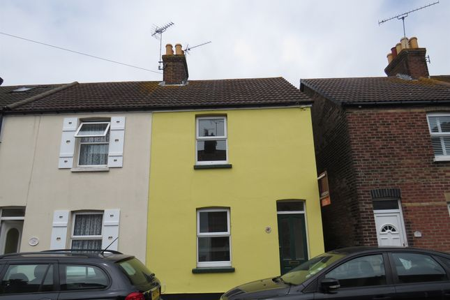Thumbnail End terrace house for sale in Stanley Road, Poole