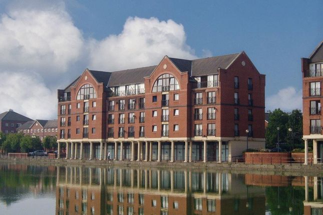 Thumbnail 2 bed flat to rent in Earl Cunningham Court, Atlantic Wharf, Cardiff