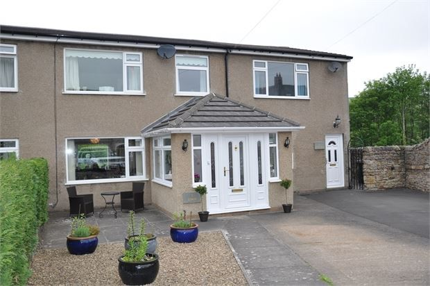 Thumbnail Semi-detached house for sale in Rockspring Crescent, Haydon Bridge, Northumberland.