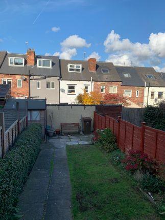 Back Garden  of Kirkstone Road, Sheffield S6