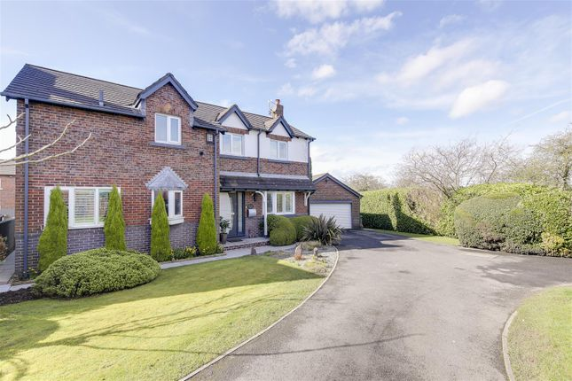 Thumbnail Detached house for sale in Farmstead Close, Woodhouses, Manchester