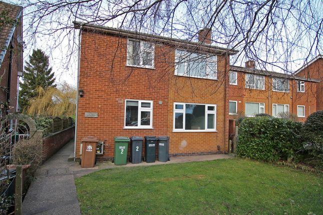 Thumbnail Flat to rent in Tudor Court, Windsor Crescent, Woodthorpe, Nottingham