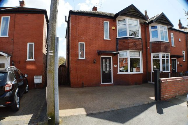 Thumbnail Semi-detached house for sale in Woodford Avenue, Denton, Manchester
