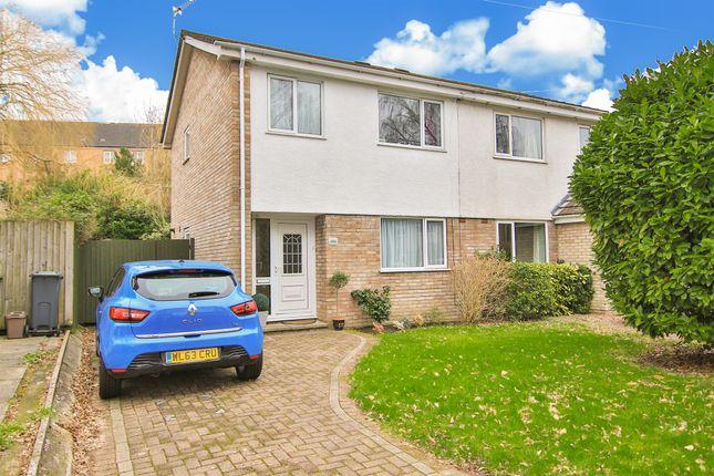 Thumbnail Semi-detached house for sale in Thornbury Close, Rhiwbina, Cardiff