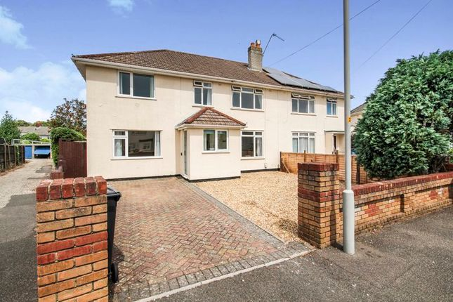 Thumbnail Semi-detached house to rent in Hawkins Road, Poole