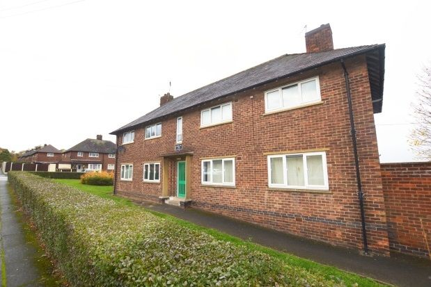 Thumbnail Flat to rent in Stradbroke Drive, Stradbroke, Sheffield