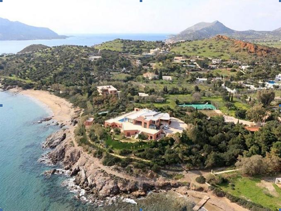 Thumbnail Villa for sale in Magnificent Seaside Villa In Legrena, Sounio, South Athens, Attica, Greece
