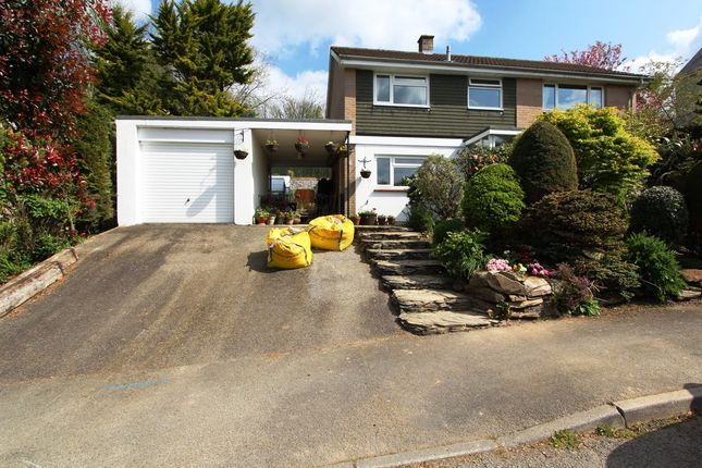 Thumbnail Detached house for sale in Tregalister Gardens, St. Germans, Saltash