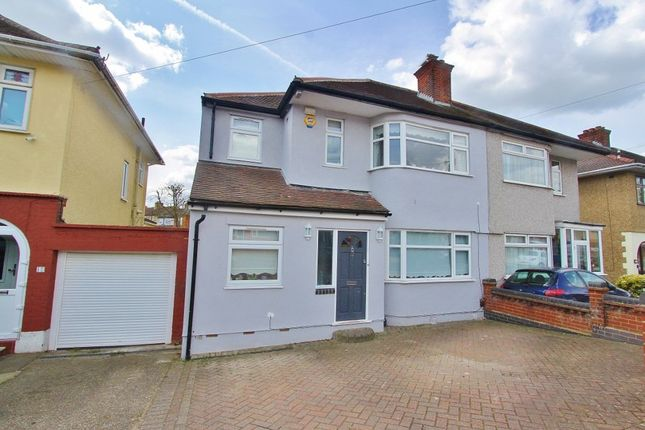 Thumbnail Semi-detached house for sale in Lynwood Drive, Romford