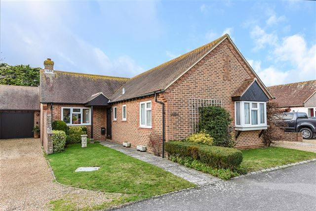 Thumbnail Bungalow for sale in Holmwood Close, West Wittering, Chichester