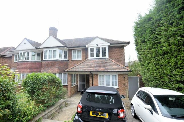 Thumbnail Semi-detached house for sale in Hillcrest Way, Epping