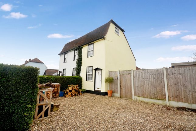 Thumbnail Semi-detached house for sale in Witham Road, Black Notley, Braintree
