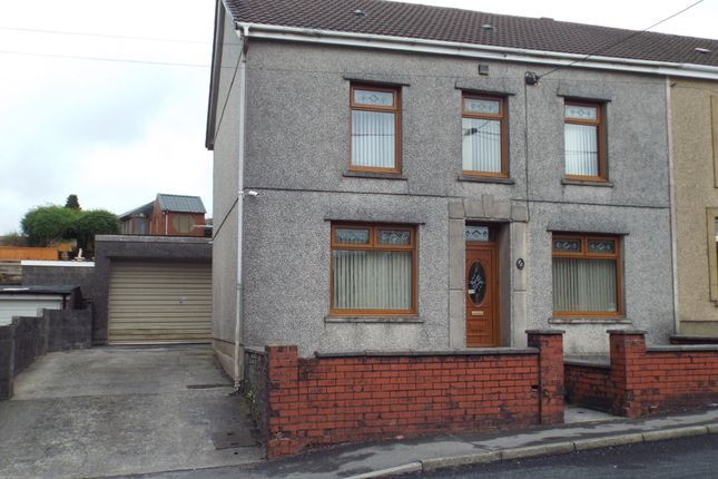 Thumbnail Semi-detached house for sale in Heol Y Bryn, Upper Tumble, Llanelli