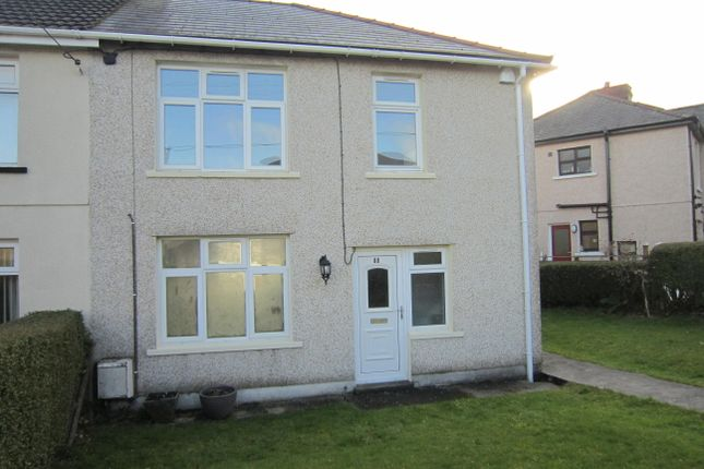 Thumbnail Semi-detached house for sale in Heolddu Crescent, Bargoed
