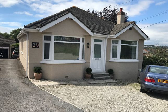 Thumbnail Detached bungalow for sale in Howard Road, Plymstock, Plymouth