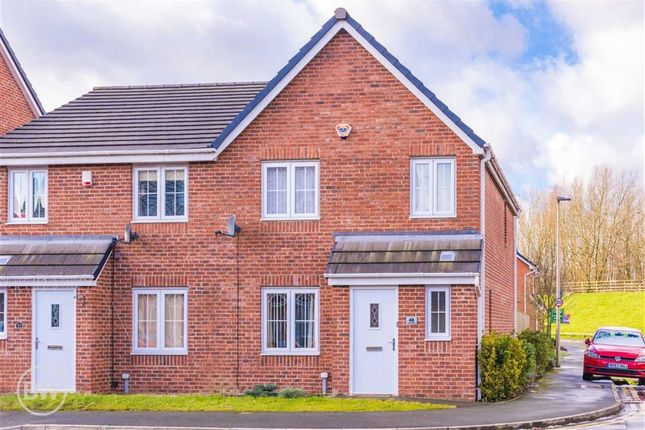 Thumbnail Semi-detached house to rent in Ledgard Avenue, Leigh, Lancashire
