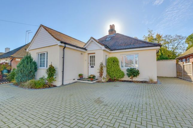 Thumbnail Detached bungalow for sale in Cricketfield Road, Horsham