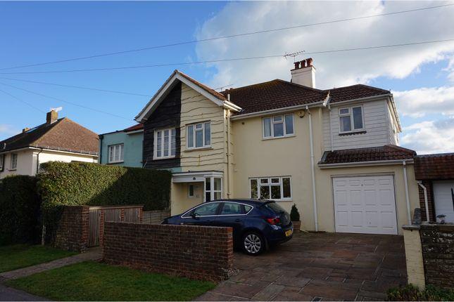 Thumbnail Semi-detached house for sale in Aldwick Avenue, Aldwick