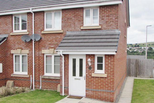 Thumbnail Semi-detached house for sale in Ffordd Y Dolau, Llanharan, Pontyclun, Rhondda, Cynon, Taff.