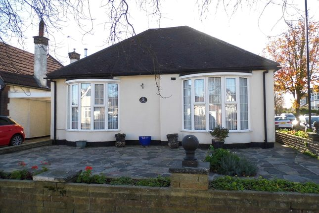 Thumbnail Detached bungalow for sale in Manor Way, Bush Hill Park
