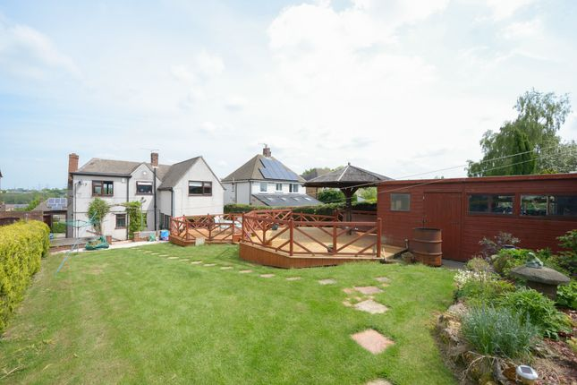 Thumbnail Detached bungalow for sale in Mansfield Road, Hasland, Chesterfield