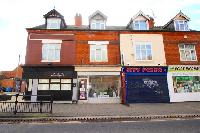 Frontage of Upperton Road, Leicester LE3