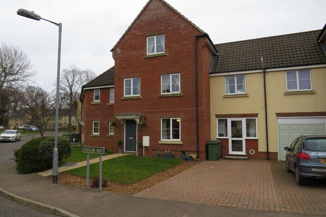 Thumbnail Detached house for sale in Taylor Way, Little Plumstead, Norwich