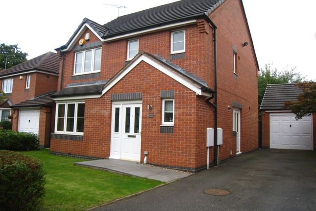 Thumbnail Detached house for sale in Lucerne Close, Aldermans Green, Coventry