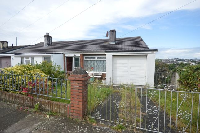 Thumbnail Semi-detached house for sale in Cardinal Avenue, Plymouth