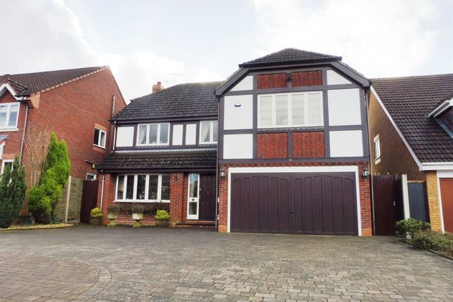 Thumbnail Detached house for sale in The Meadows, Hagley, Stourbridge