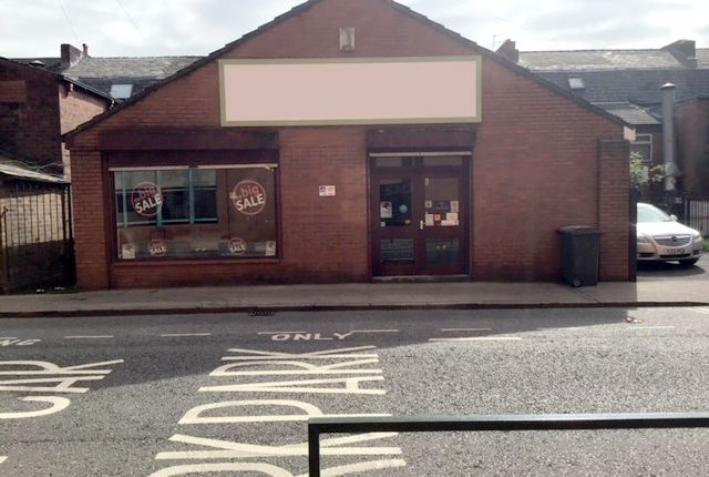 Retail premises for sale in Union Street, Oldham