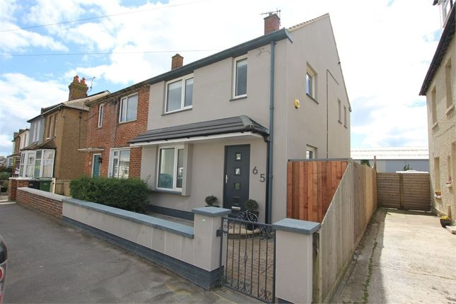 Thumbnail Semi-detached house for sale in Bulverhythe Road, St Leonards-On-Sea, East Sussex