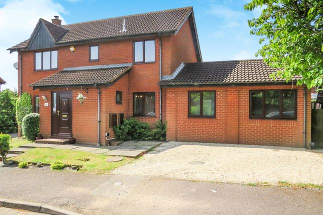 Thumbnail Detached house for sale in Milesmere, Two Mile Ash, Milton Keynes