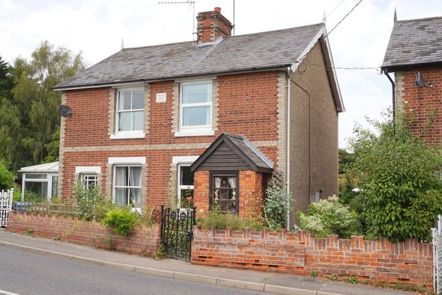 Thumbnail Semi-detached house for sale in Bergholt Road, Brantham, Manningtree