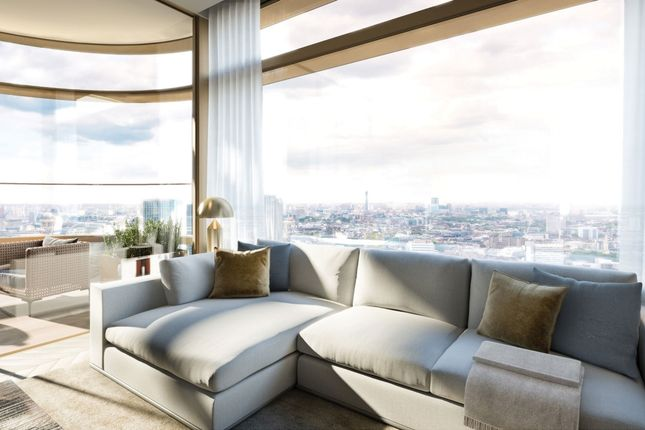 Thumbnail Flat for sale in Principal Tower, Worship Place, London