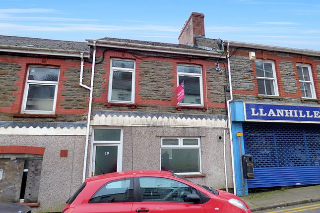 Thumbnail Terraced house for sale in Commercial Road, Abertillery, Gwent