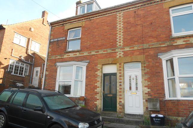 Thumbnail End terrace house to rent in Hillside Terrace, Yeovil