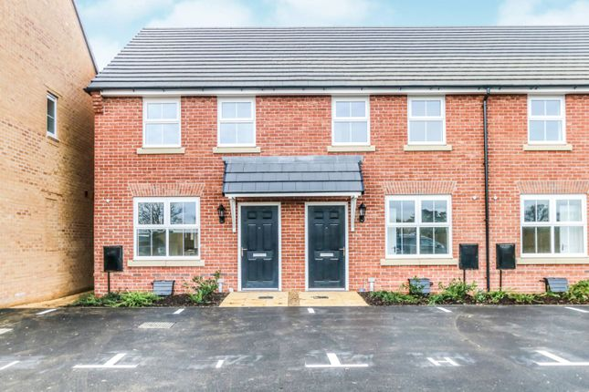 Thumbnail Terraced house for sale in Cowpasture Court, Overstone
