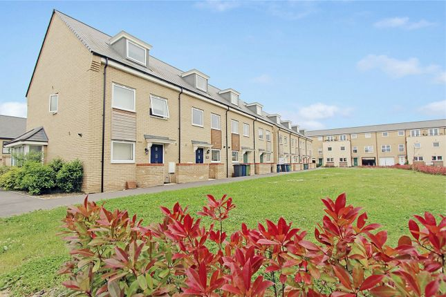 Thumbnail End terrace house to rent in Cranesbill Close, Cambridge